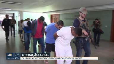Polícia Civil prende ladrões de carros - Eles são suspeitos de integrar um grupo especializado em roubar carros principalmente de mulheres nas regiões de Águas Claras, Vicente Pires e Arniqueiras.