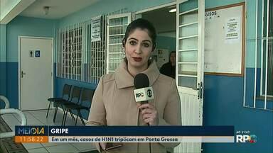 Em um mês, casos de Gripe H1N1 triplicam em Ponta Grossa - Em dias mais frios, as pessoas costumam deixar os ambientes mais fechados, facilitando a circulação do vírus.