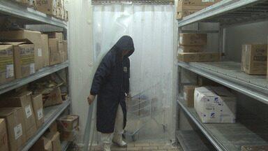 Quem trabalha em ambientes frios precisa de proteger ainda mais com temperaturas baixas - Últimos dias foram ainda mais gelados.