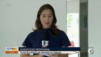 Cursos de qualificação estão sendo oferecidos em Salgueiro - São seis turmas, com 20 vagas cada. As inscrições estão sendo feitas na Casa do Cadastro Único para beneficiários do Bolsa Família.