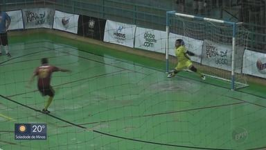 Juruaia vence Cássia nos pênaltis e fica com o 3º lugar da Taça EPTV de Futsal - Juruaia vence Cássia nos pênaltis e fica com o 3º lugar da Taça EPTV de Futsal