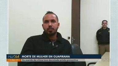 Homem acusado de matar a ex-companheira em Guapirama tem prisão preventiva decretada - A prisão de Adelmo do Prado é por tempo indeterminado. Ele chegou a confessar aos policiais que havia dado um soco na ex-companheira e colocado fogo no carro com ela dentro, porém voltou atrás no depoimento prestado à Justiça.