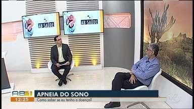AB Saúde fala sobre apneia do sono - Pneumologista orienta sobre como identificar os sintomas.