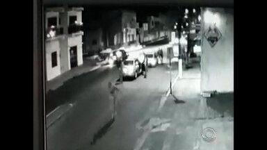 Policial militar que matou homem em briga agiu em legítima defesa, segundo Polícia Civil - Conclusão foi tirada a partir das imagens de câmeras de segurança.