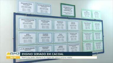 Ceeja de Cacoal está com matrículas abertas para quem quer concluir o ensino médio - O Centro de Educação de Jovens e Adultos oferece o ensino médio para quem quer concluir de forma mais rápida.