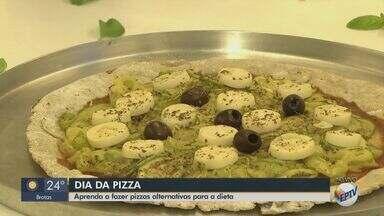 Dia da Pizza: chefe de São Carlos ensina massas para quem tem restrição alimentar - Professor de gastronomia listou opções de receitas alternativas para quem não pode ou não quer consumir glúten, lactose ou carboidrato.