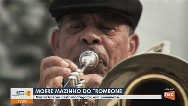 Músico Mazinho do Trombone morre em Florianópolis - Músico Mazinho do Trombone morre em Florianópolis