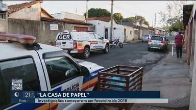 Operação 'La Casa de Papel' prende 18 pessoas em Uberlândia - Segundo investigação, todos são integrantes de uma quadrilha que praticava explosão de caixas eletrônicos, tráfico de drogas, venda de carros roubados e armas e fogo.