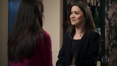 Fabiana promete ajudar Vivi a encontrar uma última vez com Chiclete - Vivi confronta Beatriz e Linda pela tentativa de subornar o rapaz