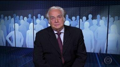 Arnaldo Jabor comenta possível indicação de Eduardo Bolsonaro como embaixador - O presidente disse nesta quinta (11) que poderia indicar o filho para embaixador do Brasil nos Estados Unidos.