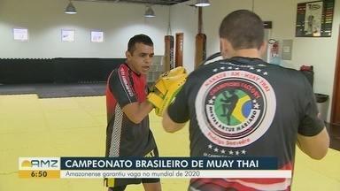 Amazonense garante vaga no mundial de muay thai na Tailândia - Competição deve ocorrer em 2020.