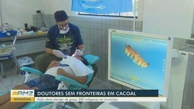 'Doutores sem Fronteiras' realizam atendimentos no interior de Rondônia - Ação deve atender gratuitamente cerca de 300 indígenas no município.