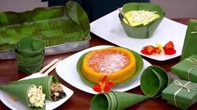 Casal cria embalagens feitas com folha de bananeira - Folha de bananeira é biodegradável e pode substituir plástico, folha de alumínio e papel manteiga.