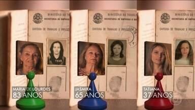 Entenda o caminho para a aposentadoria em diferentes gerações - Em reportagem especial, o Jornal da Globo conheceu integrantes de uma família que contam o caminho que fizeram até a aposentadoria.
