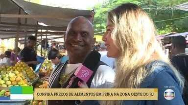 'Na Feira com Você' percebe aumento de preço na tangerina ponkan - 'É De Casa' vai nas feiras pelo Brasil, para buscar os melhores preços na hora de comprar os alimentos.
