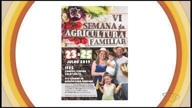 Confira a agenda de eventos do campo no Espírito Santo - Tem eventos em várias comunidades.