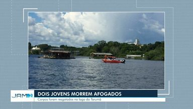 Homens morrem afogados no Tarumã em Manaus - Eles estavam em um caiaque