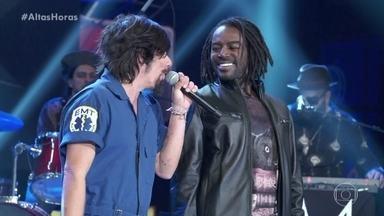 Jonathan Azevedo canta 'Negro Gato' com banda Del Rey - Confira a apresentação!