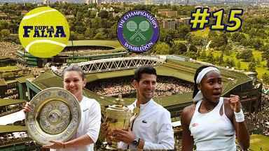Dupla Falta #15: Os destaques de Wimbledon - Dupla Falta #15: Os destaques de Wimbledon