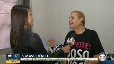 Prefeitura do Rio suspende programa que atendia idosos e doentes crônicos - Cerca de 900 pessoas eram atendidas pelo projeto.