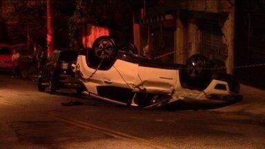 Perseguição policial termina em morte no ABC - Uma mulher foi atropelada em Santo André por um motorista que fugia da polícia.