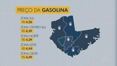 Gasolina começa a ficar mais barata em Manaus - Postos da Zona Sul tem os melhores preços segundo o Procon.