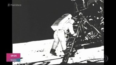 'Mais Você' fala sobre os 50 anos da chegada do homem à lua - Feito histórico ainda desperta muito interesse e desconfiança por parte da população