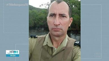 Policial que morreu após acidente com viatura é velado no norte do Tocantins - Policial que morreu após acidente com viatura é velado no norte do Tocantins