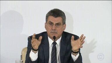 Romero Jucá e Sérgio Machado se tornam réus na Lava Jato - Segundo o MP, Jucá recebeu R$ 1 milhão de propina de empreiteira, em 2010. Pagamento estaria ligado a contratos com a Transpetro, que tinha Sérgio Machado como presidente.