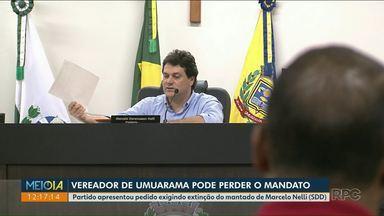 Partido protocola pedido de extinção de mandato de vereador de Umuarama - O documento foi emitido, mas ainda não foi entregue ao vereador.