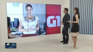 Confira os destaques do G1 nesta sexta-feira (19) - Polícia investiga caso de menor de 12 anos que diz ter engravidado após ser abusada pelo padrasto em Jaíba.