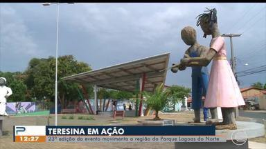 Teresina em Ação acontece na Praça dos Orixás no Parque Lagoas do Norte - Teresina em Ação acontece na Praça dos Orixás no Parque Lagoas do Norte