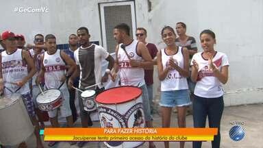 Jacuipense e Juazeirense seguem na busca pelo acesso à série C - Times baianos jogam no próximo domingo (21).