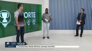 Esporte: Campeonato Norte Mineiro de Vôlei começa neste fim de semana - Confira outras notícias do esporte.