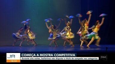 Começa a Mostra Competitiva no Festival de Dança - Começa a Mostra Competitiva no Festival de Dança
