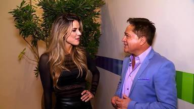 Leonardo fala sobre emoção de receber camiseta de Leandro no 'Domingão' - Confira!