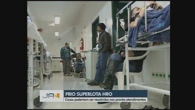 Superlotado, Hospital Regional do Oeste restringe atendimentos em Chapecó - Superlotado, Hospital Regional do Oeste restringe atendimentos em Chapecó