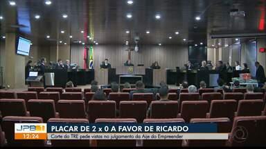 Corte do TRE pede vistas no julgamento da Aije do Empreender na Paraíba - Juiz Antonio Carneiro votou favorável ao ex-governador Ricardo Coutinho.