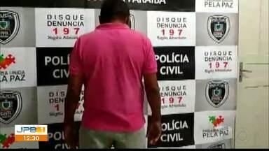 Menina de 5 anos seria abusada por companheiro da avó na Paraíba - O suspeito foi preso na cidade de Sousa.