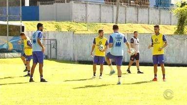 Caxias se prepara para a decisão contra o Manaus, pela Série D do Brasileirão - Partida vale vaga para a Série C da competição.