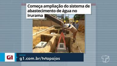 Ampliação do sistema de abastecimento de água no Irurama é destaque no G1 - Confira outras notícias da região no portal.