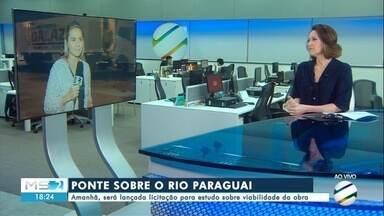 Licitação para construção de ponte sobre Rio Paraguai será lançada em Porto Murtinho - Em Porto Murtinho.