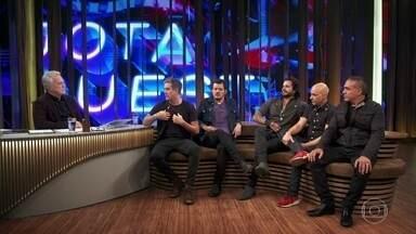 Rogério Flausino fala sobre o processo de composição das músicas da banda - Músicos explicam como a banda foi formada