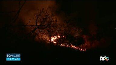 Diversos incêndios foram registrados hoje em Maringá e Região - No mês de julho, Corpo de Bombeiros registrou 27 ocorrências.