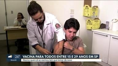 Prefeitura divulga estratégias para combater surto de sarampo em SP - A Capital tem 800 casos em investigação e 363 confirmados. Desses confirmados, até agora, se sabe que 70 são autóctones, ou seja, a pessoa pegou a doença na cidade.