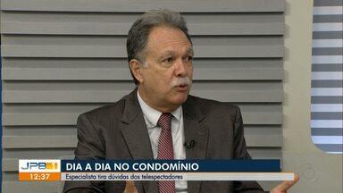 Condomínio no JPB1: especialista tira dúvidas dos telespectadores - Inaldo Dantas fala sobre convivência em comunidade.