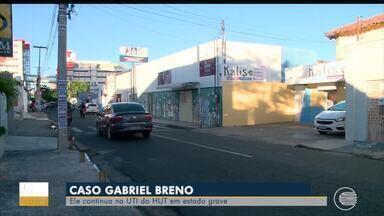 Polícia aguarda decisão da justiça para prender homem acusado de balear Gabriel Breno - Polícia aguarda decisão da justiça para prender homem acusado de balear Gabriel Breno