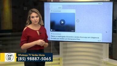 Confira a participação dos telespectadores pelo Whatsapp nesta terça-feira (23) - Saiba mais em g1.com.br/ce