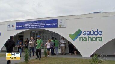 Liberado repasse para unidades de saúde funcionarem até mais tarde em Campo Grande - Campo Grande passa a fazer parte de um novo programa nacional de saúde.