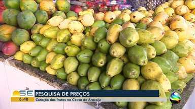 Confira pesquisa de preços de hortifrutis na Ceasa e em uma feira na capital - Confira pesquisa de preços de hortifrutis na Ceasa e em uma feira na capital.